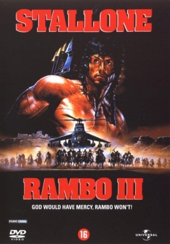 Cover van de film 'Rambo 3'
