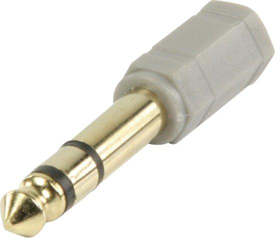 Bandridge Hoofdtelefoonadapter 3,5 mm naar 6,3 mm