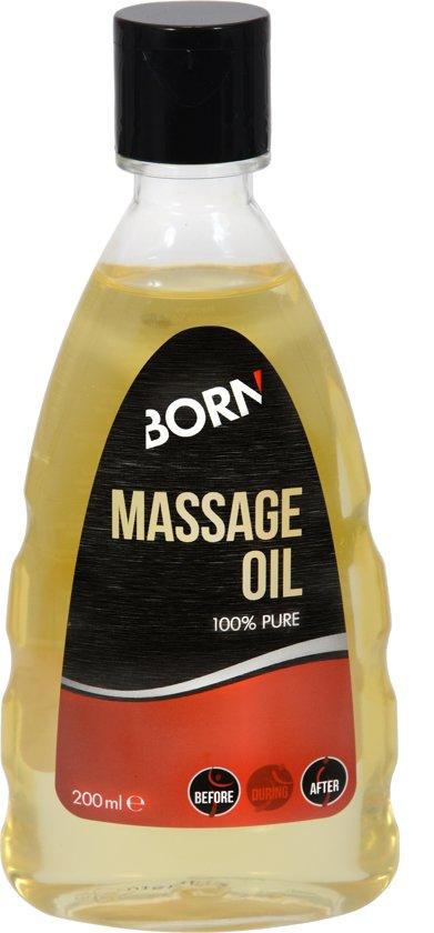 Foto van Born Massage Oil 100% Pure