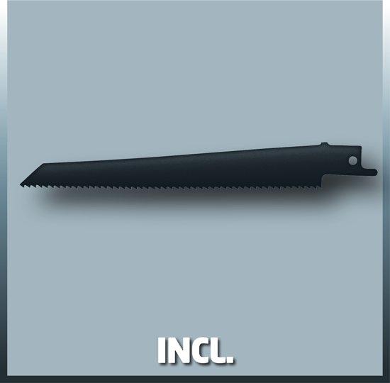 Einhell TC-AP 650 E Reciprozaag - 650 W - Slaghoogte: 20 mm - Inclusief 1x zaagblad