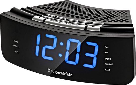 Krüger&Matz KM0813 - Wekkerradio met AUX