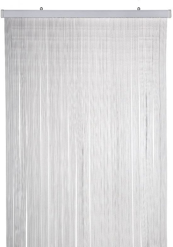Wicotex Sabrina - Vliegengordijn - 90x220 cm - Transparant