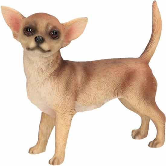 Beeldje Chihuahua bruin 10 cm