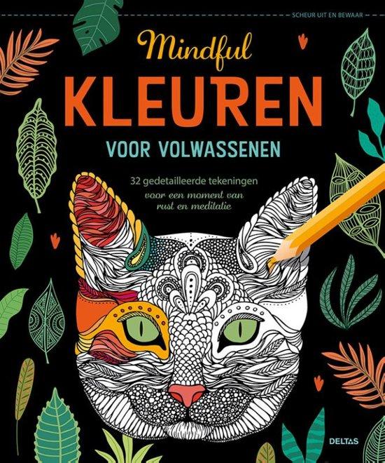 Boek cover Mindful kleuren voor volwassenen van Diverse auteurs (Paperback)