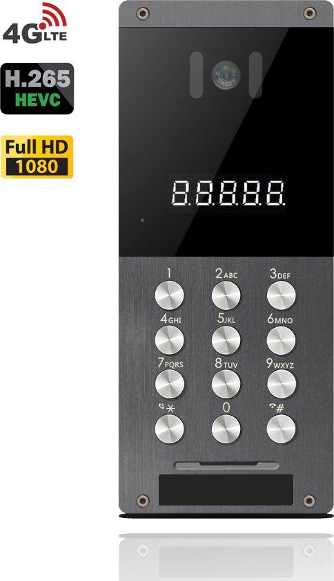 1080P 4G LTE Video Intercom H.265