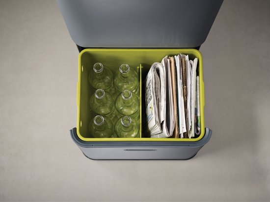 Joseph Joseph Intelligent Waste Totem Afvalemmer 48 Liter (2x24 L)