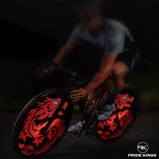 bol.com | 2x DIY 64LED fietswiel verlichting - Programmeerbaar en ...