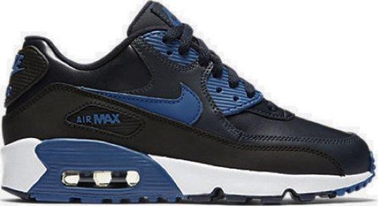 nike air max zwart blauw