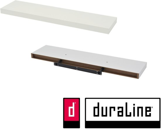 Wandplank Zwevend 80 Cm.Bol Com Duraline Wandplank Zwevend Xl4 Basic Wit 80 X 23 5 X 3 8 Cm