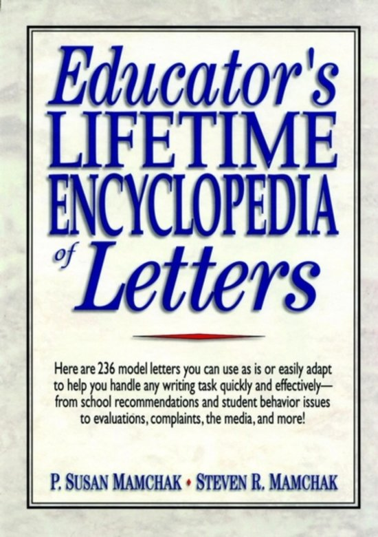 Educator's Lifetime Encyclopedia of Letters