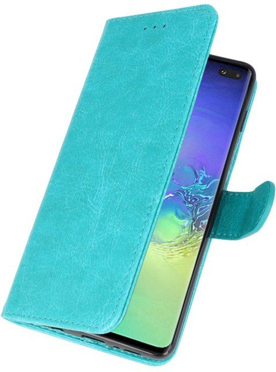 Samsung Galaxy S10 Plus Hoesje Book Case Groen