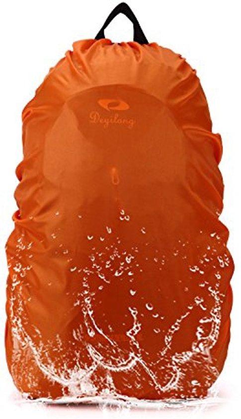 b2b6c3bd85c Flightbag Regenhoes Waterdicht voor Backpack Rugzak - 30-35 Liter Regenhoes  – Oranje