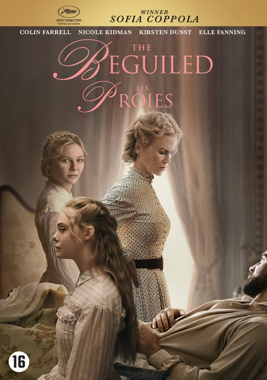 DVD cover van The Beguiled