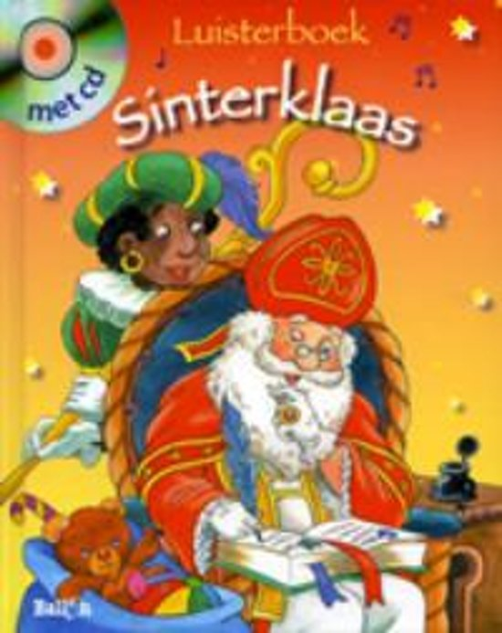 Cover van het boek 'Sinterklaas: Luisterboek met CD midprice'