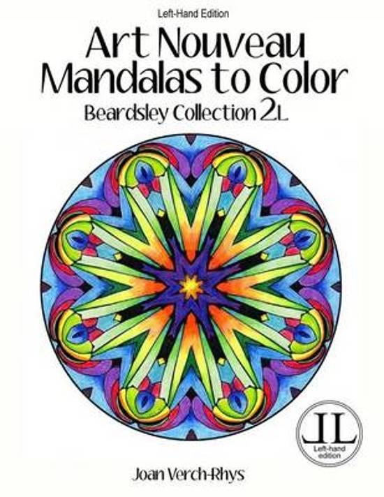 Bolcom Art Nouveau Mandalas To Color Left Hand Edition