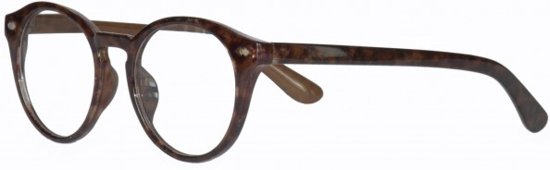 b249d8f266bca6 Icon Eyewear WCD340 Jamie Leesbril +3.00 - Bruin Demi