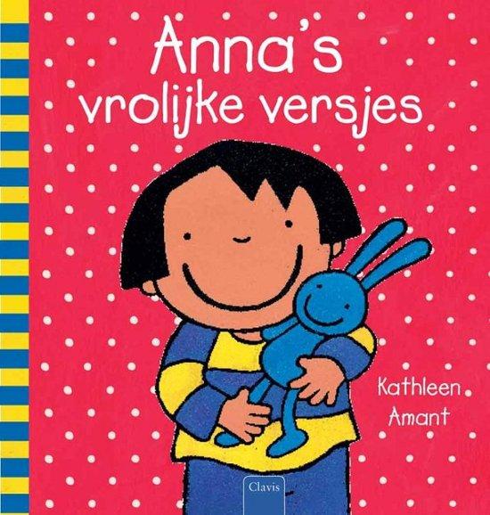 Cover van het boek 'Anna's vrolijke versjes' van Kathleen Amant
