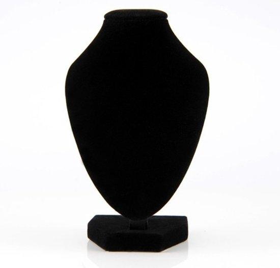 Sieraden display - hals voor het presenteren van kettingen - zwart
