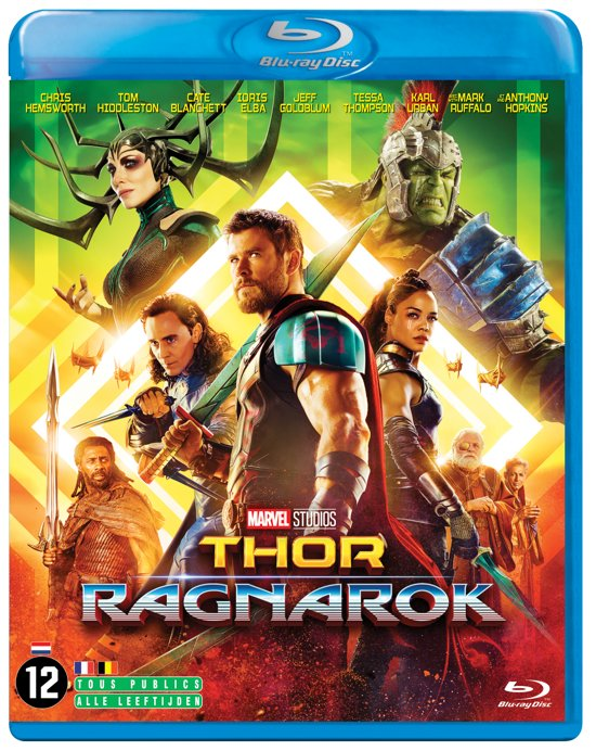 DVD cover van Thor: Ragnarok (Blu-ray)