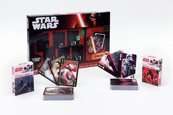 Afbeelding van het spel Star Wars Episode 8: The last Jedi Heroes & Villains + Collector Card Set