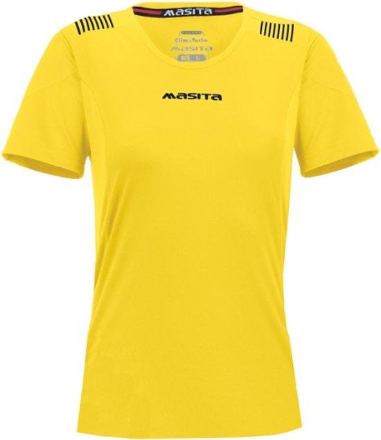 Masita Porto Dames Shirt - Voetbalshirts  - geel - 38