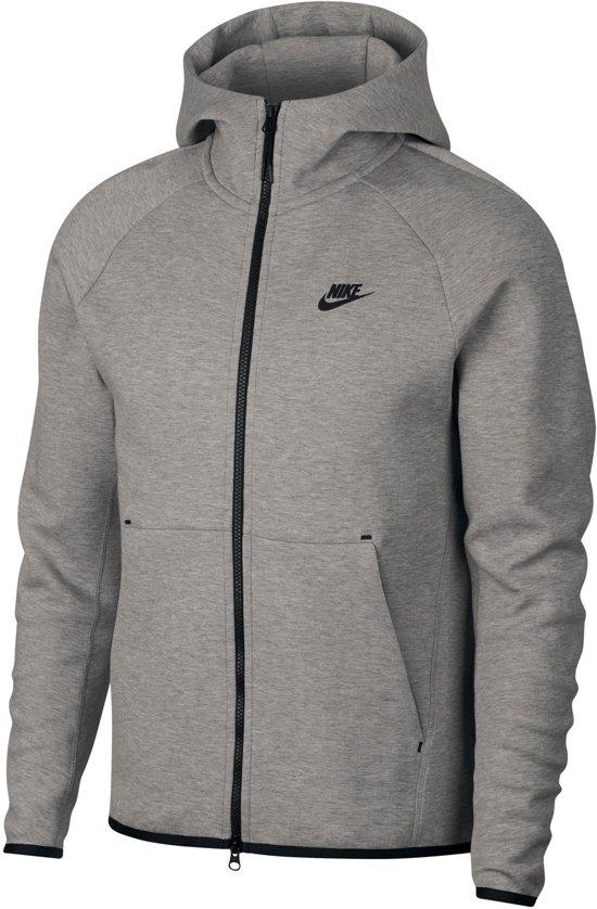 Hoodie Grijs Heren.Bol Com Nike Sportswear Tech Fleece Hoody Heren Sporttrui Maat