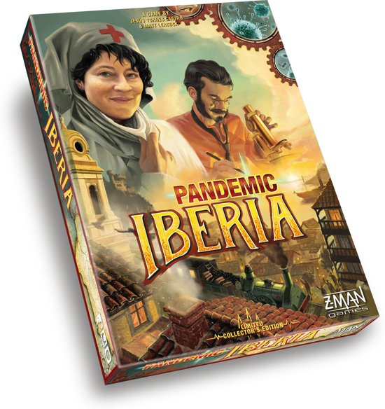 Afbeelding van het spel Pandemic Iberia - Bordspel - Engelstalig
