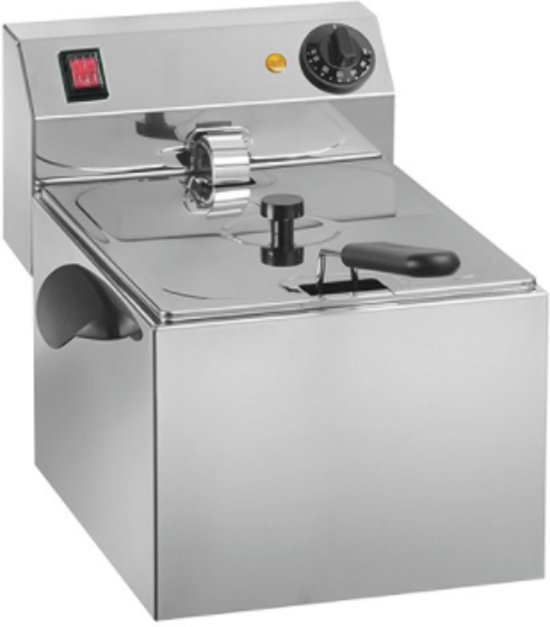 CaterChef elektrische friteuse 8 liter