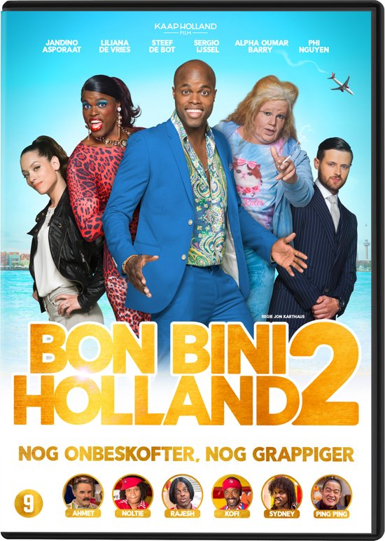 DVD cover van Bon Bini Holland 2