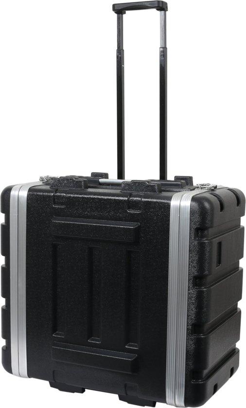 Innox ABS-17-6UT 19 inch ABS doubledoor flightcase met wielen 6U