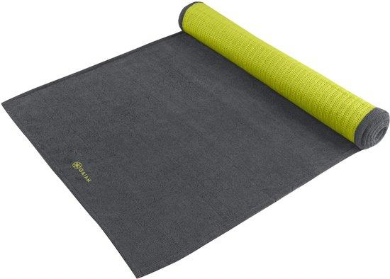 Gaiam Grippy Yoga Handdoek - grijs