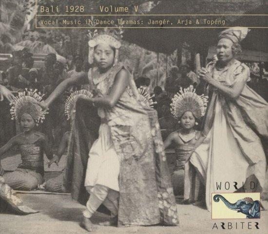 Bali 1928 Vol. 5: Vocal Music In Da