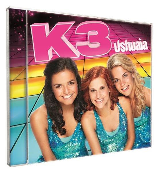 CD cover van Ushuaia van K3