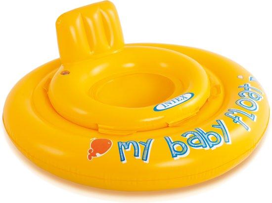 Zwemband My Baby Float Geel - 76cm | Intex 56585EU