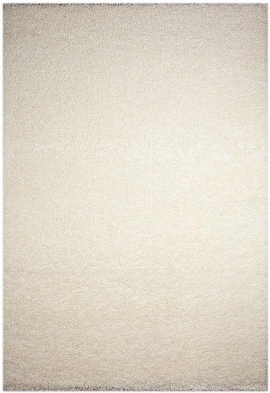 Vloerkleed Shaggy Plus 963 White 120 cm-Rond
