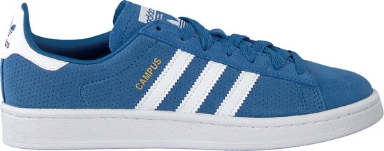 Adidas Meisjes Sneakers Campus J - Blauw - Maat 36⅔