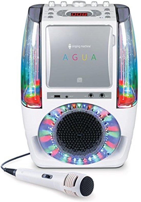 Singing Machine AGUA Karaoke Set Wit SML605