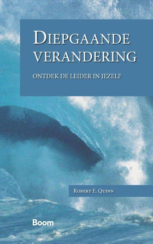 Boek cover Diepgaande verandering van R.E. Quinn (Paperback)