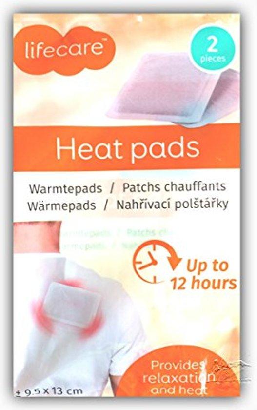 Lifecare Warmtepads - 2 stuks   Heat pads