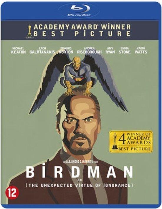 DVD cover van Birdman (Blu-ray)