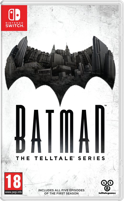 Batman: The Telltale Series 2 - Enemy Within Switch