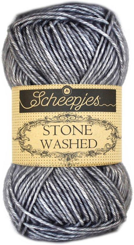 Scheepjes Stone Washed 802 Smokey Quartz (PAK MET 10 BOLLEN)