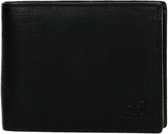 fcba7dafa55 Heren Portemonnee Bilfold Echt Leer Klein Model - RFID - DD Exclusive ...