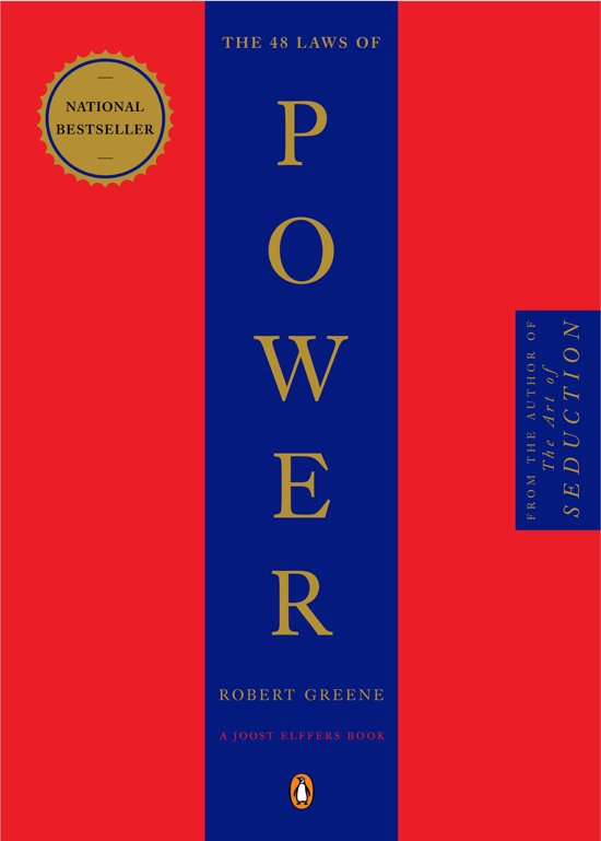 Boek cover The 48 Laws of Power van Robert Greene (Paperback)