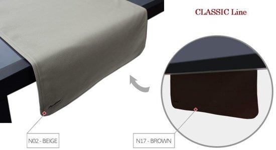 Pavelinni tafelloper Classic 45x120cm Brown/Beige
