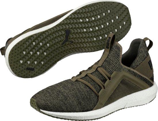 Chaussures De Course Mega Pumas Nrgy Tricot 190 371 02 - Hommes - Nuit Olive Noir - Taille 9.5 iz6xBrJzkm
