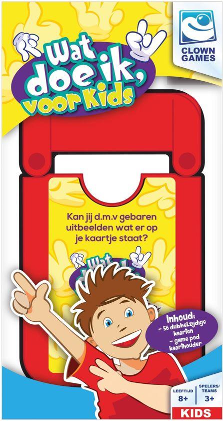 Clown Games Kaartspel Wat Doe Ik Kids