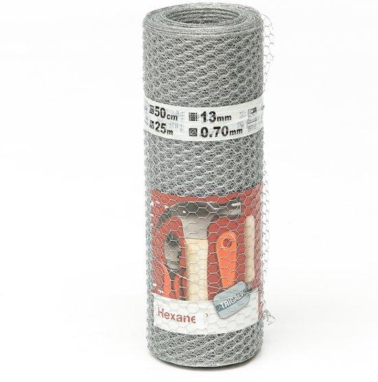 gaas zeskant 25 mm 50 cm (50 meter)