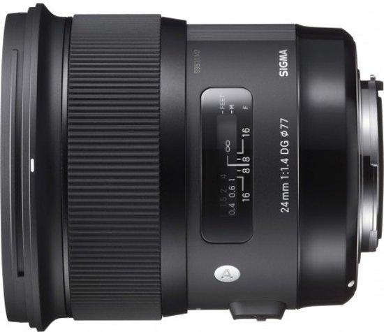 Sigma 24mm f/1.4 DG HSM Art Canon