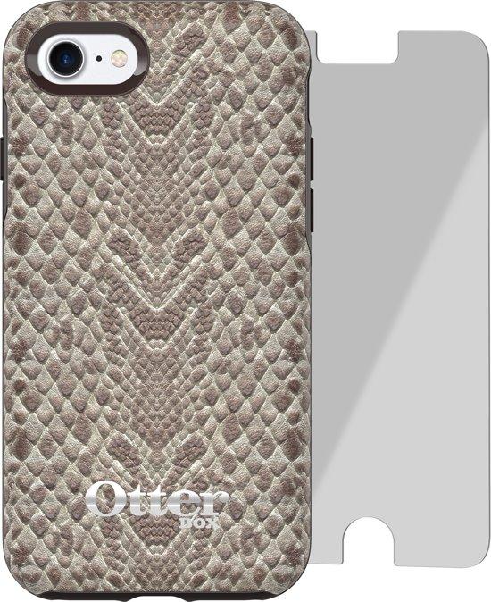 Otterbox Strada met Alpha Glass screenprotector voor Apple iPhone 7 - Grijs in Elp